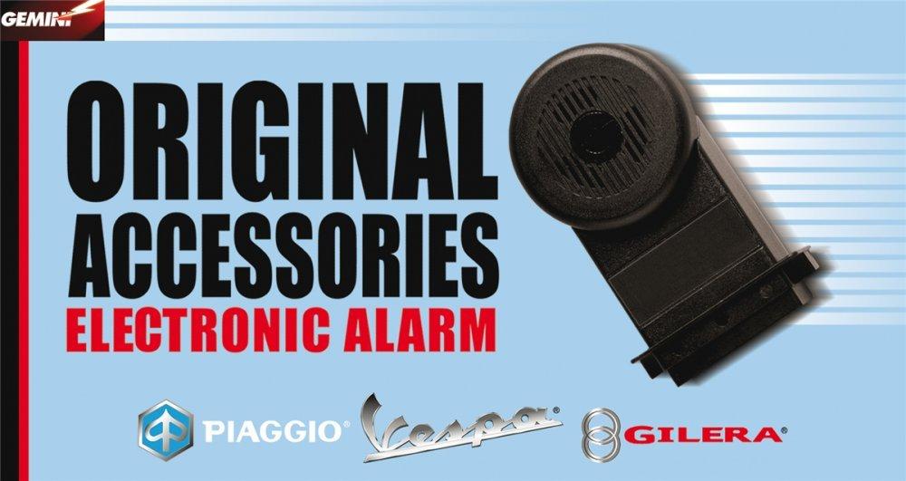 Original Piaggio accesorios - Alarma S de 1 apto para ...