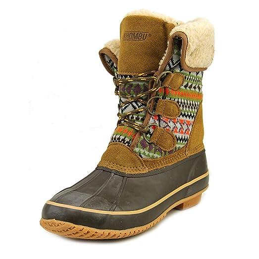 Maya Women US 5 Brown Snow Boot