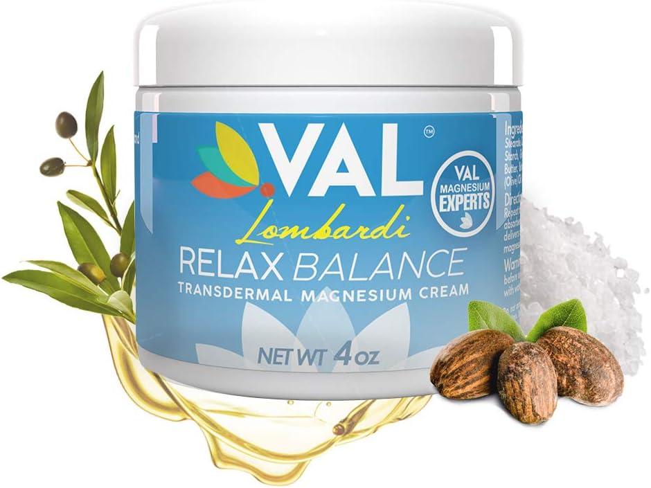 VAL Lombardi Magnesium Cream