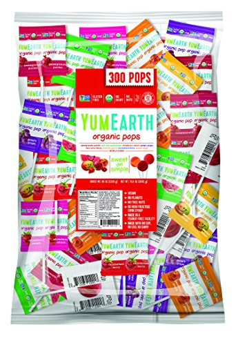 YumEarth Organic Lollipops Pound Bag product image