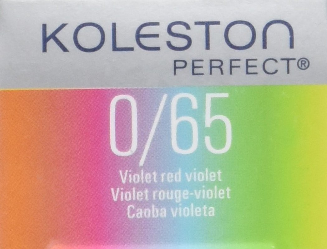 Buy Wella Koleston Perfect Hair Color, 0/65 Violet Red Violet, 2 ...