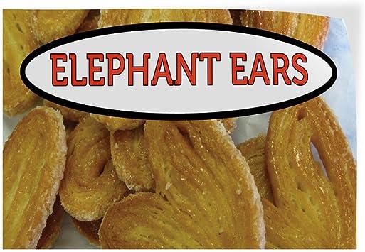 Amazon Com Decal Sticker Multiple Sizes Elephant Ears 1