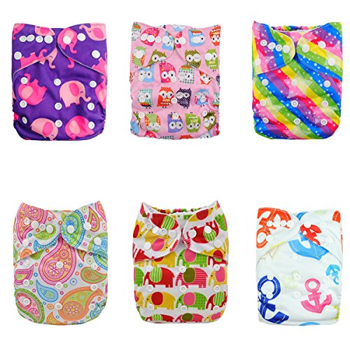 Reuseable Washable Pocket diapers inserts product image