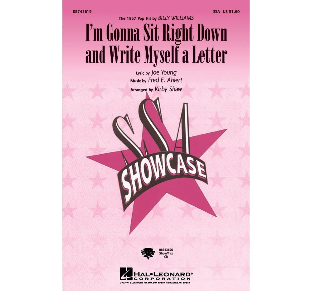 Read Online Hal Leonard I'm Gonna Sit Right Down and Write Myself a Letter ShowTrax CD by Billy Williams Arranged by Kirby Shaw pdf
