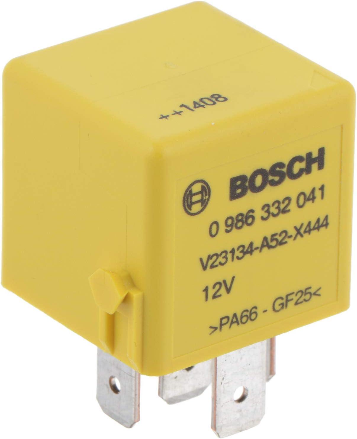 Bosch 0986332041 Mini Relais 12v 40a Ip5k4 Betriebstemperatur Von 40 C Bis 85 C Wechselrelais 5 Pin Relais Auto