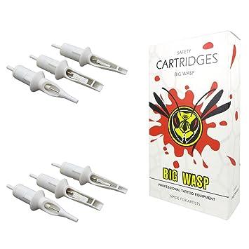 Amazoncom Bigwasp Professional Disposable Tattoo Needle Cartridge
