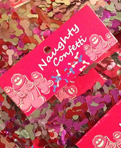 Naughty Pecker Willy Confetti Bachelorette Decoration Bachelor Party Wedding