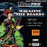 UltraPro Magazine Size Boards (Pack of 100)