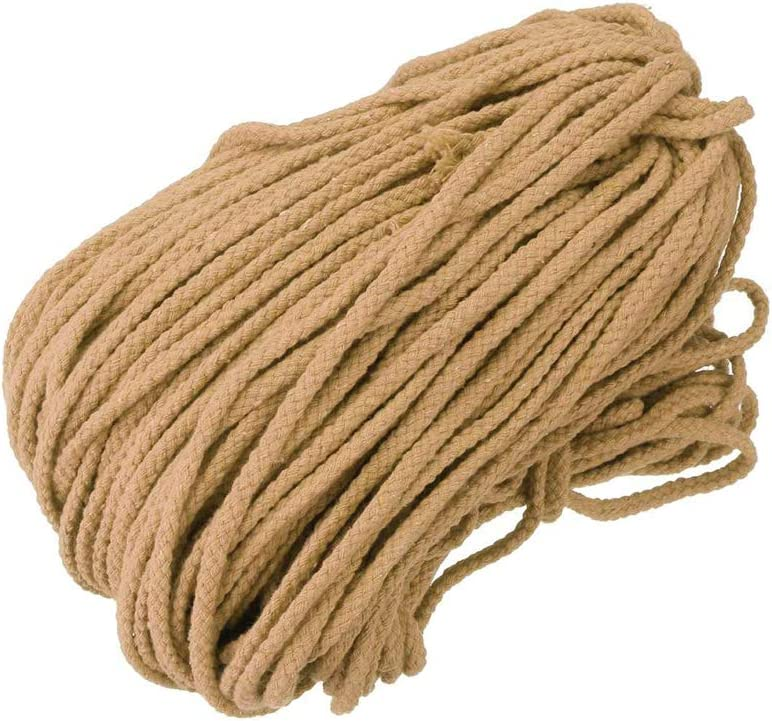 NEW 100 Yards String Cotton Rope Macrame Cord Braided Twisted Crafts DIY