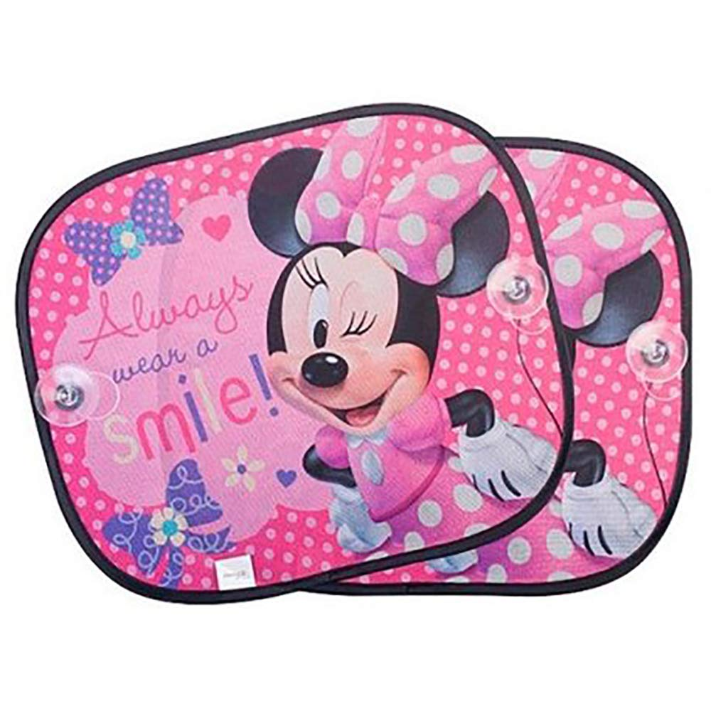 Disney Minnie 317015 Kids Car Window Shades 2 Pack 45 x 36 CM