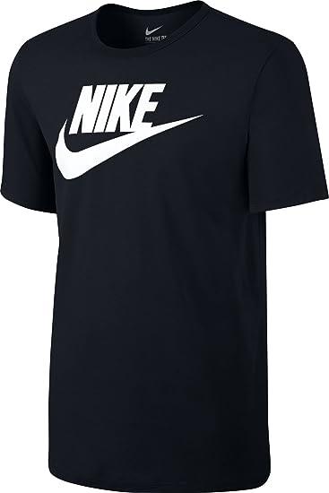 6b9ffca19c Amazon.com  Nike Icon Futura Tee Men s Sport Slim Fit Fitness Cotton ...