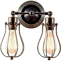 Apliques de Pared Vintage Adjustable Metal Lampara Rustica