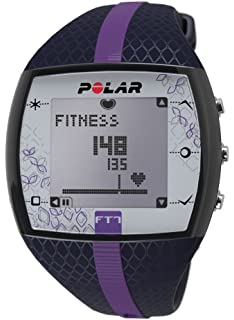 amazon com polar ft4 heart rate monitor watch silver black polar ft7 heart rate monitor
