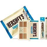 ETUDE HOUSE HERSHEY's Chocolate Brush Kit #Cookie & Cream - Play Color Eyes Mini Eyeshadow Palette & Brush - Special…