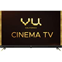 Vu 139 cm (55 inches) 4K Ultra HD Cinema Android Smart LED TV 55CA (Black) | With 40W Front Soundbar
