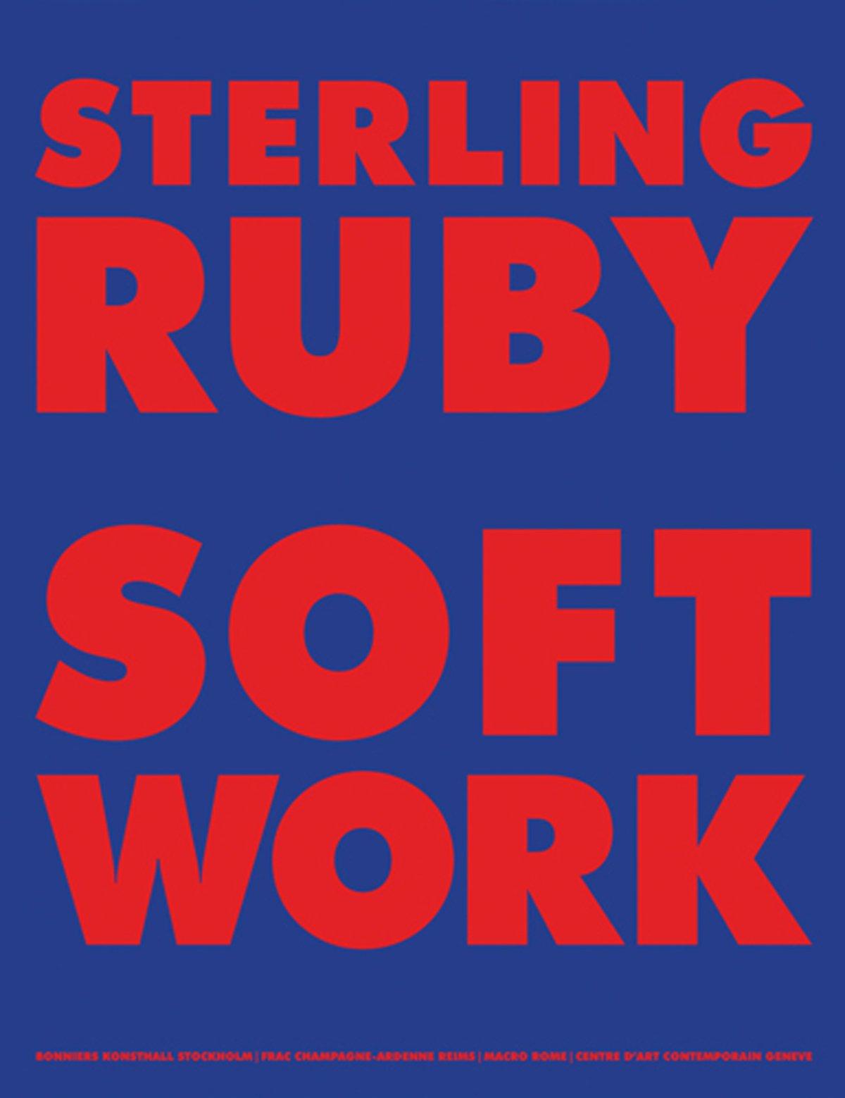 Sterling Ruby. Softwork: Sprüth Magers, Berlin