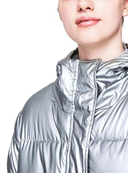 Pepe Jeans Abrigo Belinda Plateado Mujer M 934SILVER: Amazon.es: Ropa y accesorios