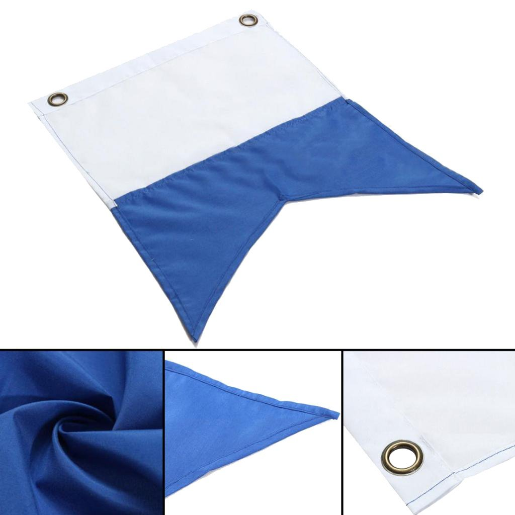 YiMusic Polyester Scuba Diving Dive Flag Underwater Floating Safety Signal Flags Suit for Snorkeling Diving Underwater Activities