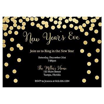 Happy New Year Invitation Card 51