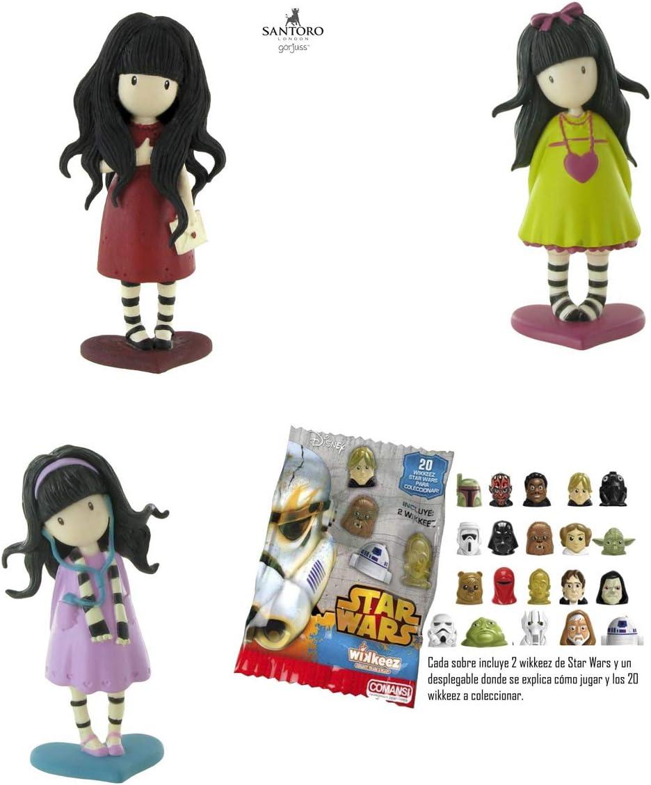 Lote 3 Figuras Comansi Gorjuss - from The Heart - Heartfelt - Little Song + Regalo: Amazon.es: Juguetes y juegos