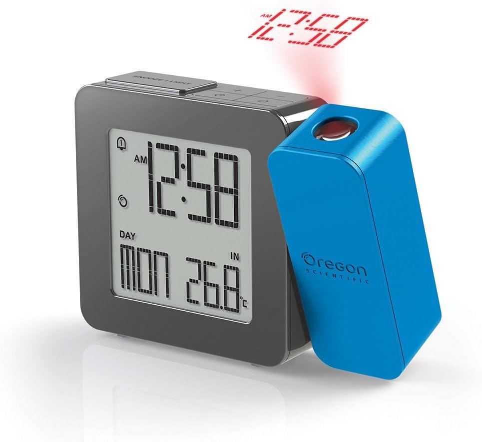 Oregon Scientific RM338P_B - Reloj Despertador proyector con ...