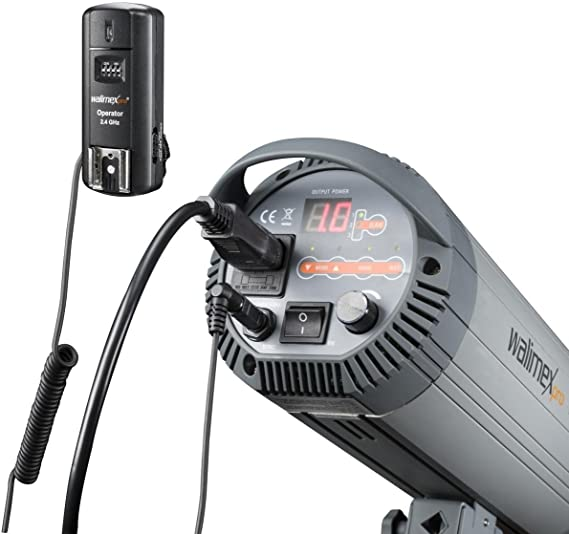 Walimex Pro Blitz Und Kameraauslöser Für Canon Kamera