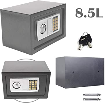 Caja de Seguridad de 8,5 l para Almacenamiento en el hogar, Caja ...