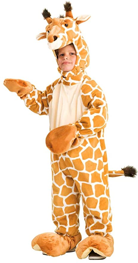 forum kids giraffe cute plush zoo animal halloween costume