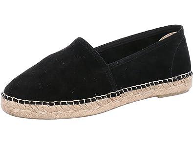 grand assortiment nouvelle arrivée Beau design ESPADRIJ L'ORIGINALE Womens Classic Velour Suede Leather ...