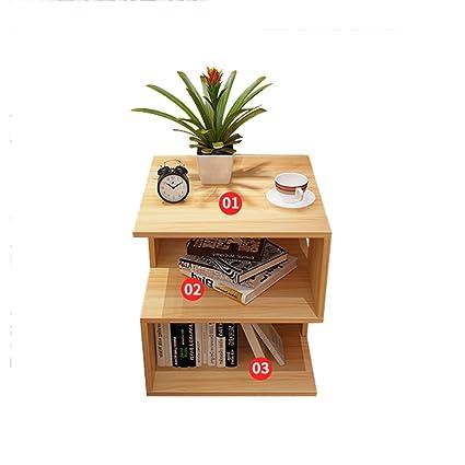 MEILING Un po \'di colore in legno quadrato semplice tavolo piccolo ...