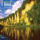 Iowa, Wild & Scenic 2018 12 x 12 Inch Monthly Square Wall Calendar, USA United States of America Midwest State Nature