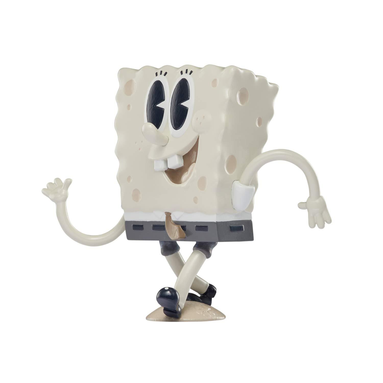 "SpongeBob SquarePants SpongePop CulturePants Old-Timey Spongebob Auldey US690701 4.5/"" Collectible Vinyl Figure"