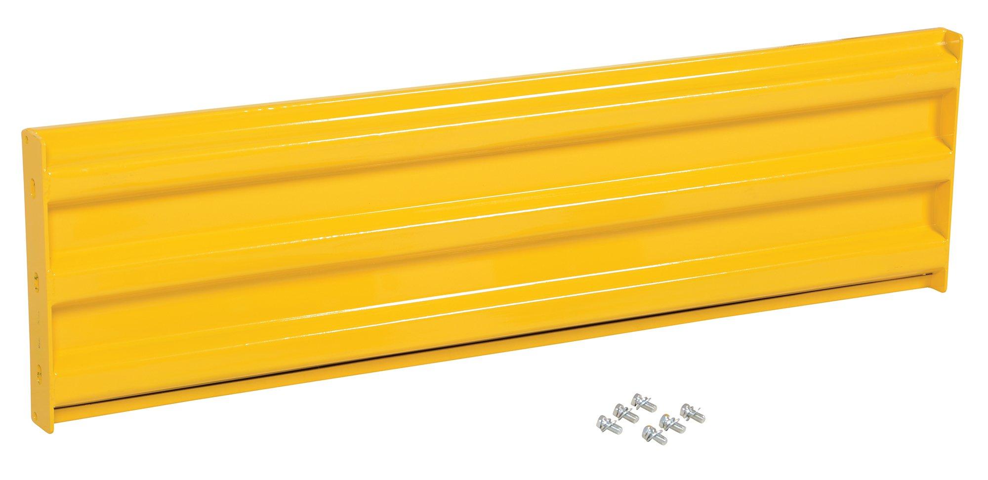 Vestil YGR-B-5 Bolt-On Style Guard Rail44; Yellow - 5 ft.