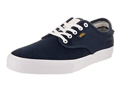 dce7c6c42b98 Vans Men s Chima Ferguson Pro Dress Blues Golden Gloe White Skate Shoe