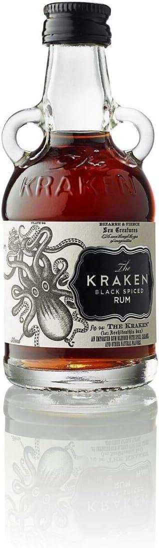 The Kraken The Kraken Black Spiced 47% Vol. 0,05L - 50 ml