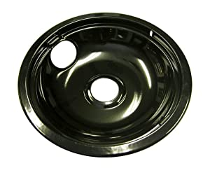 Frigidaire 5303935053 Range Drip Pan Genuine Original Equipment Manufacturer (OEM) Part Black