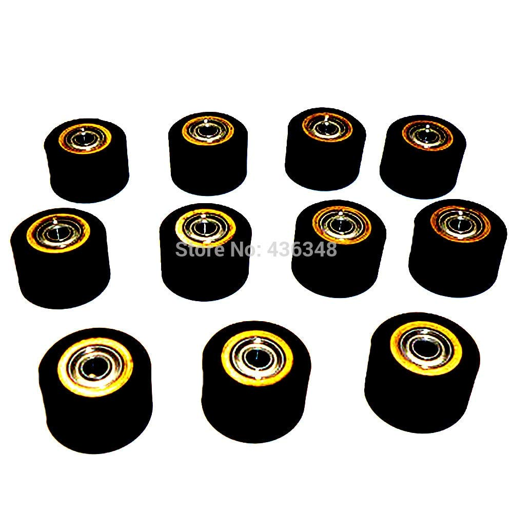 FINCOS 1/2/3/4/5/6/10pcs 3mmx11mmx16mm Pinch Roller Wheel for Roland Vinyl Plotter Cutter Extra Long Life Wheel Bearing Paper - (Color: 10pcs) by FINCOS (Image #3)
