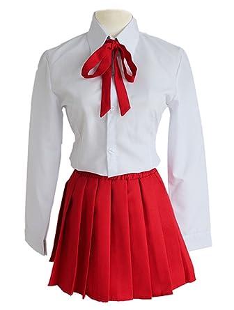 Amazon Com Ylmbmei Girl S Cosplay Japanese Anime Umr Cute School