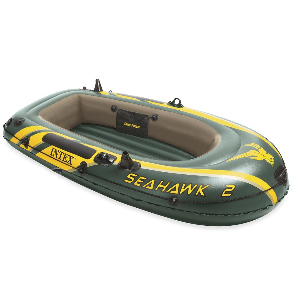 Intex Schlauchboot Boot Seahawk 2 Phthalates Free, 236 X 114 X 41 cm, 68346NP