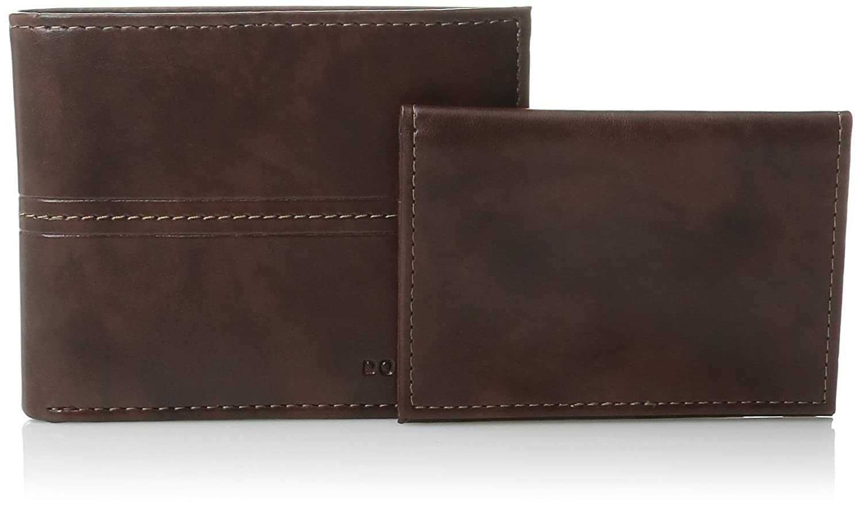 Dockers cartera de piel auténtica Pocketmate ID, billetera plegable marrón marrón talla única: Amazon.es: Ropa y accesorios