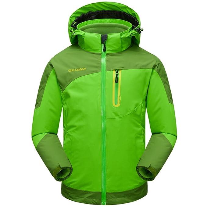Chaqueta 3 en 1 de Montaña Impermeable Chaquetas de Nieve Niña Abrigo Deportivo para Niños: Amazon.es: Deportes y aire libre