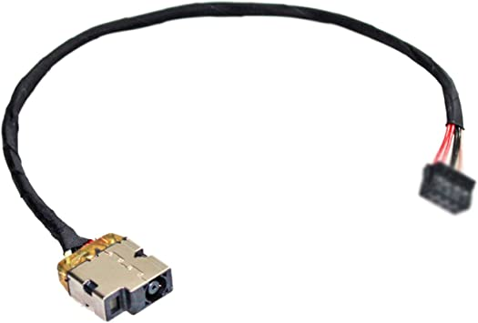 GinTai DC Jack Power with Cable Harness Replacement for HP Chromebook 15-ab120nr 15-ab121dx 15-ab124cy 3pcs