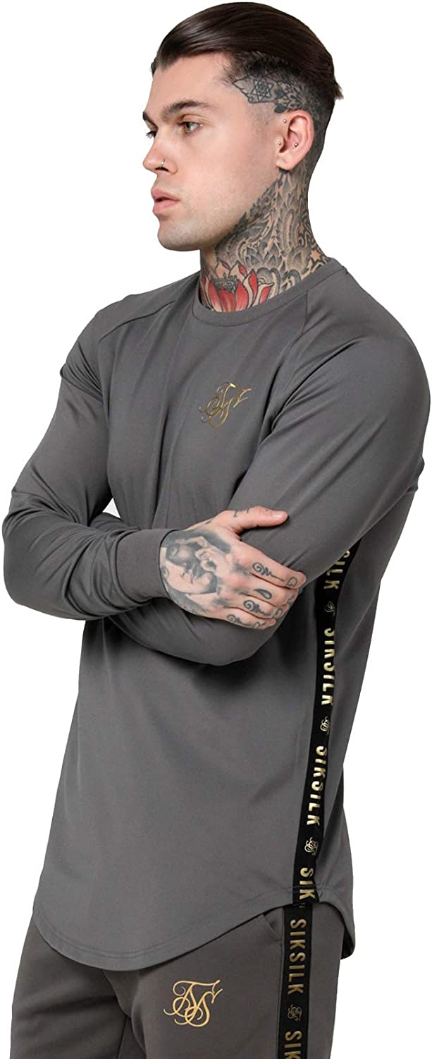 Sik Silk Camiseta Taped Performance Hombre: Amazon.es: Ropa y accesorios