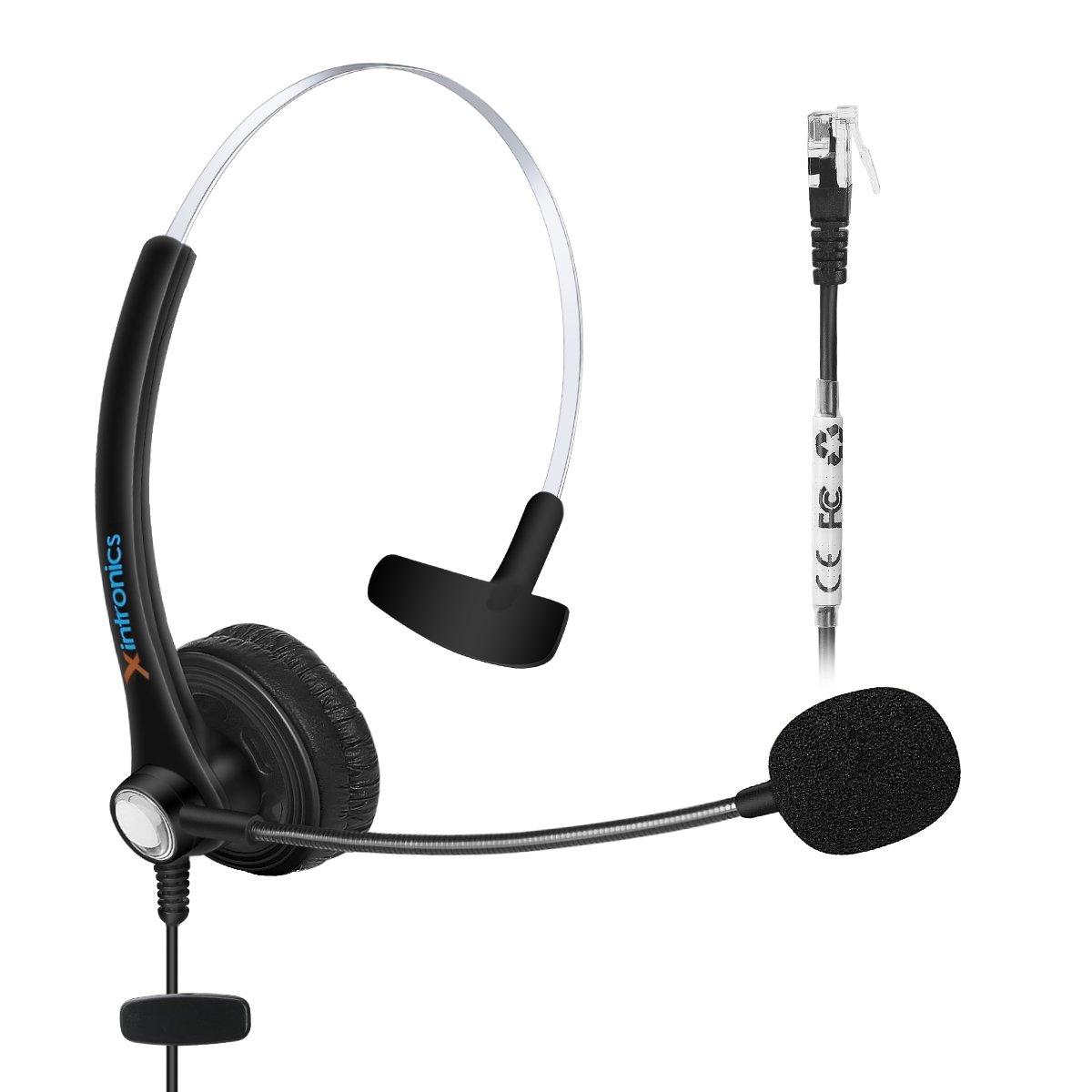 Fivetech Headset for GrandStream GXP-2130 2140 2160 & Avaya 1608 1616 9620