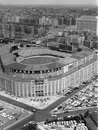 Celebrity Framed Art An 8 x 10 Photo Framed Old Baseball-Yankee-Stadium-Aerial