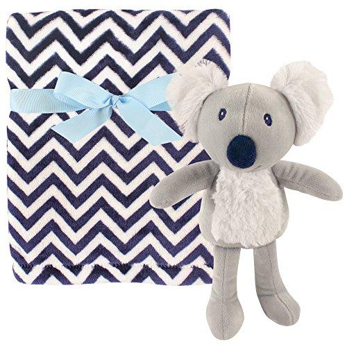 Hudson Baby Plush Blanket & Toy, Koala (Baby Blanket Soft Koala)