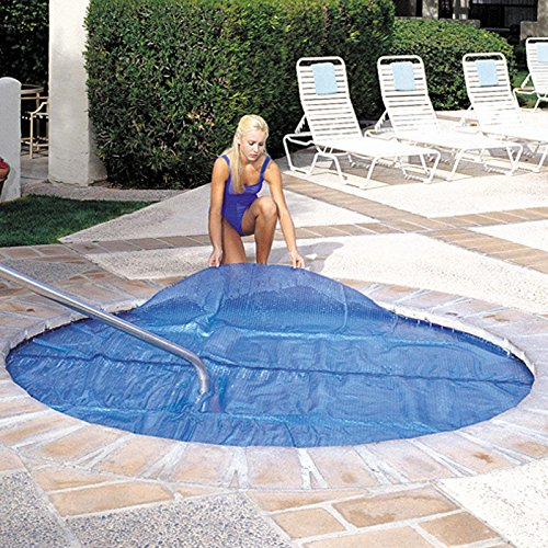 Durable 6'x'6' Square 15 Mil Solar Spa Blanket Cover For Spa & Hot Tub-Trimmable To Any Spa Or Hot Tub Shape ()