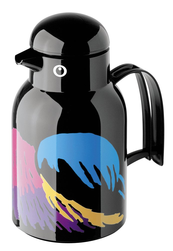 Helios Thermo-Bird Vacuum Jug Black-Bird 1 Litre Helios_2794-2107-002