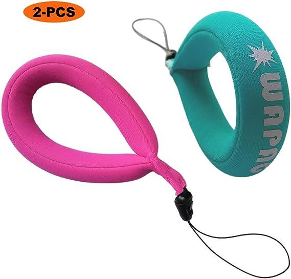 2x Waterproof Floating Wrist Band Underwater Bracelet Buoyancy Belt Orange