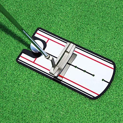 Golf Posture Corrector, LtrottedJ Pro Golf Putting Mirror Training Eyeline Alignment Swing Practice Trainer Aid -